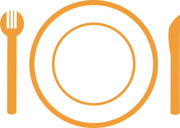 600x429 Dinner Clip Art At Clkercom Vector Clip Art Online, Dinner Plate