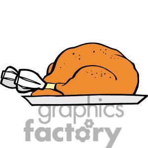 300x300 Turkey Clipart Plate