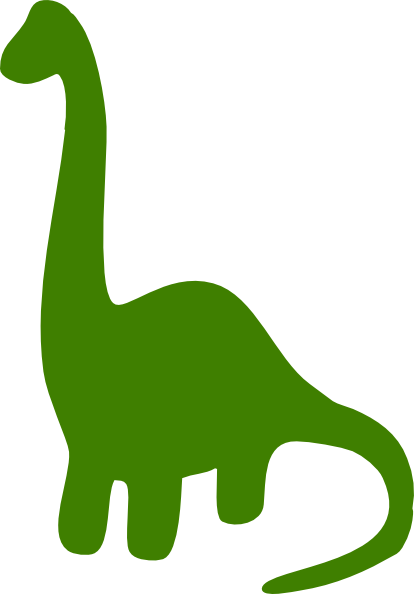 414x594 Free Download Green Dino Clipart For Your Creation. Colour Day