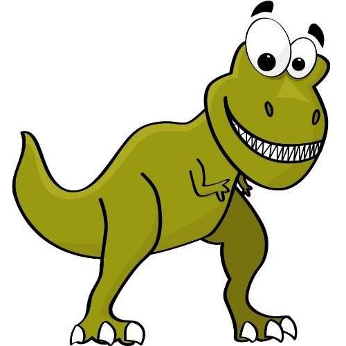 500x500 77 Best Dino Clipart Images On Dinosaur Silhouette