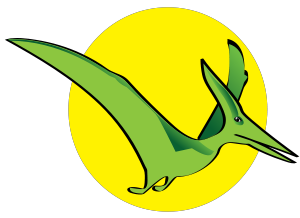 300x218 Pterodactyl Clip Art