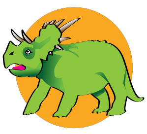 299x272 Triceratops Clip Art