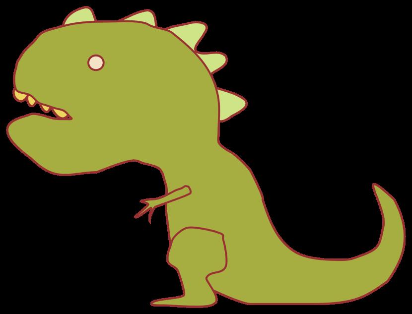 830x633 Dinosaur Clipart