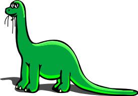 275x191 Cartoon Dinosaur Clip Art