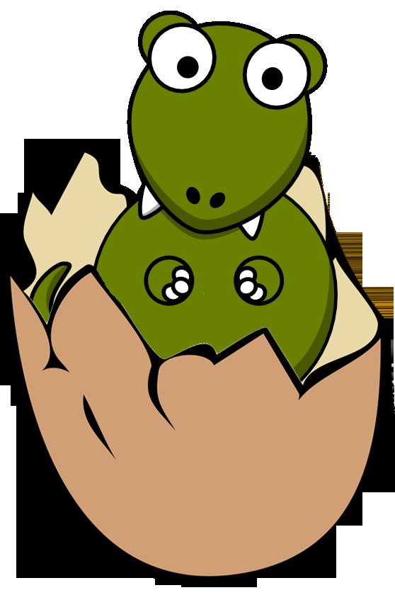 558x840 Easter Clipart Dinosaur