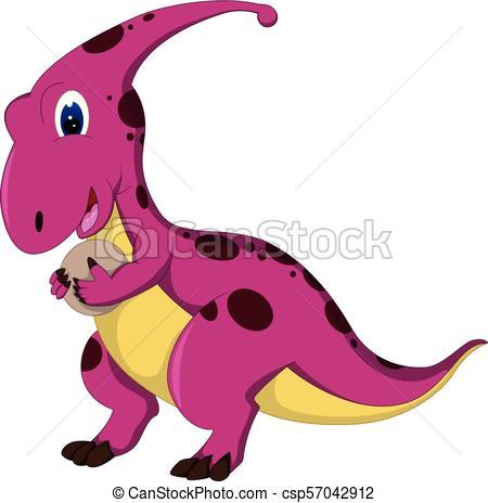 450x464 Vector Illustration Of Funny Ancient Dinosaur Cartoon Vector