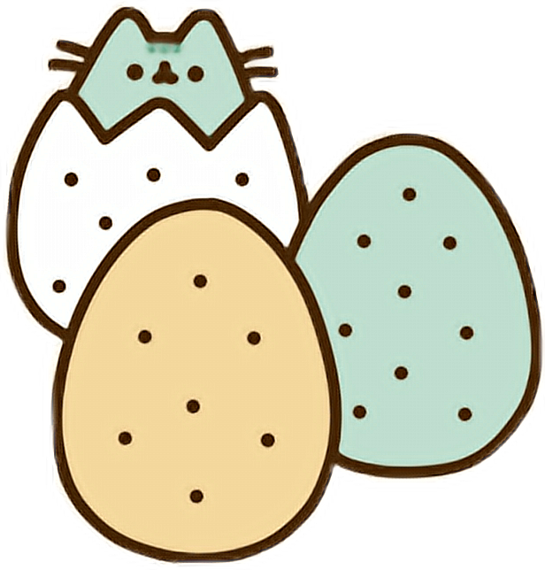 616x644 My Pusheen Dinosaur Eggs! Kawaii Pushe