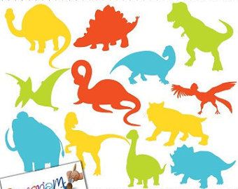 340x270 Printable Dinosaur Clipart Collection