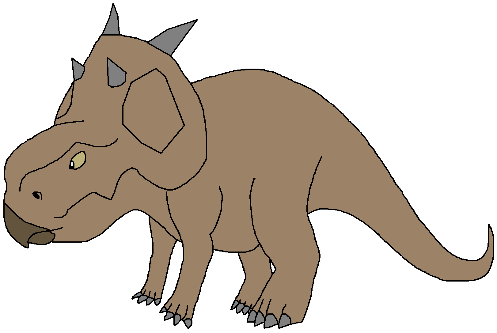 1622x1087 Pachyrhinosaurus Dinosaur Pedia Wikia Fandom Powered By Wikia