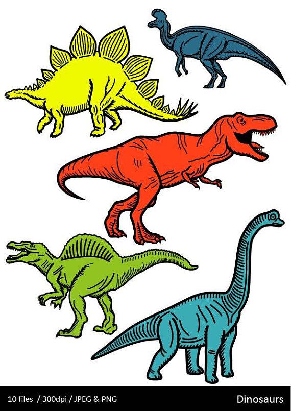 570x805 Dinosaur Clipart Dinosaur Clip Art 3 For 2 Dinosaur Party