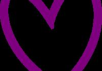 200x140 Heart Outline Clipart Ribbon Heart Outline Christian Heart Clipart