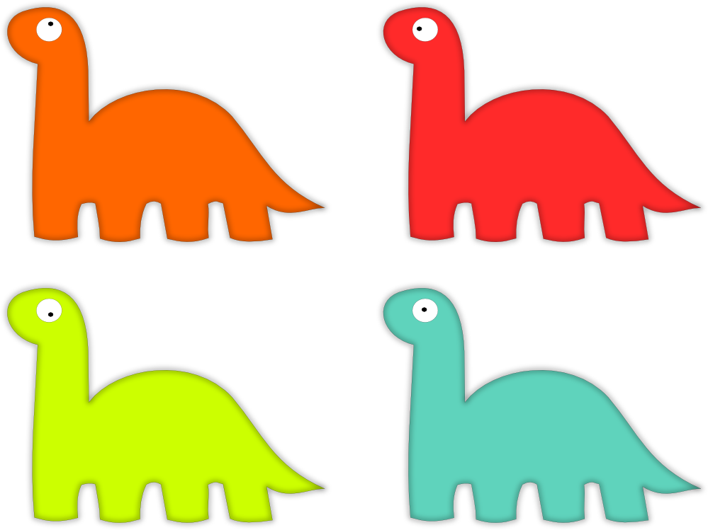 999x749 Dinosaur Graphics
