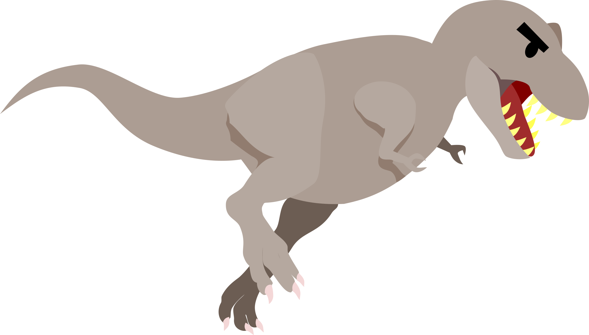 2400x1366 Extinct Clipart Big Dinosaur