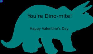 297x174 Dinosaur Valentine Clip Art