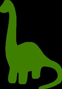 207x297 Green Dinosaur Clip Art