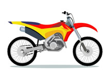210x153 Free Motorcycle Clipart