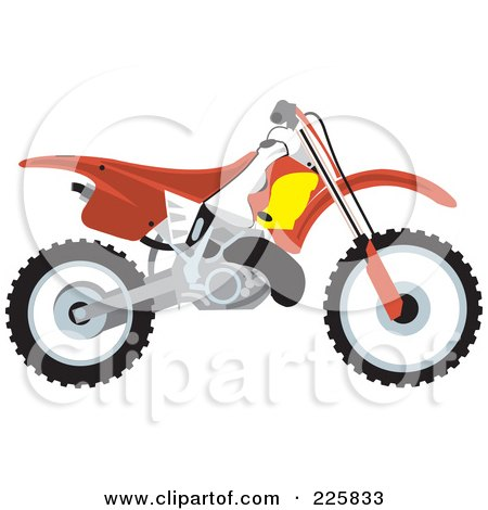 450x470 Royalty Free (Rf) Dirt Bike Clipart, Illustrations, Vector Graphics