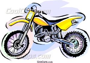 300x211 Dirt Bike Vector Clip Art