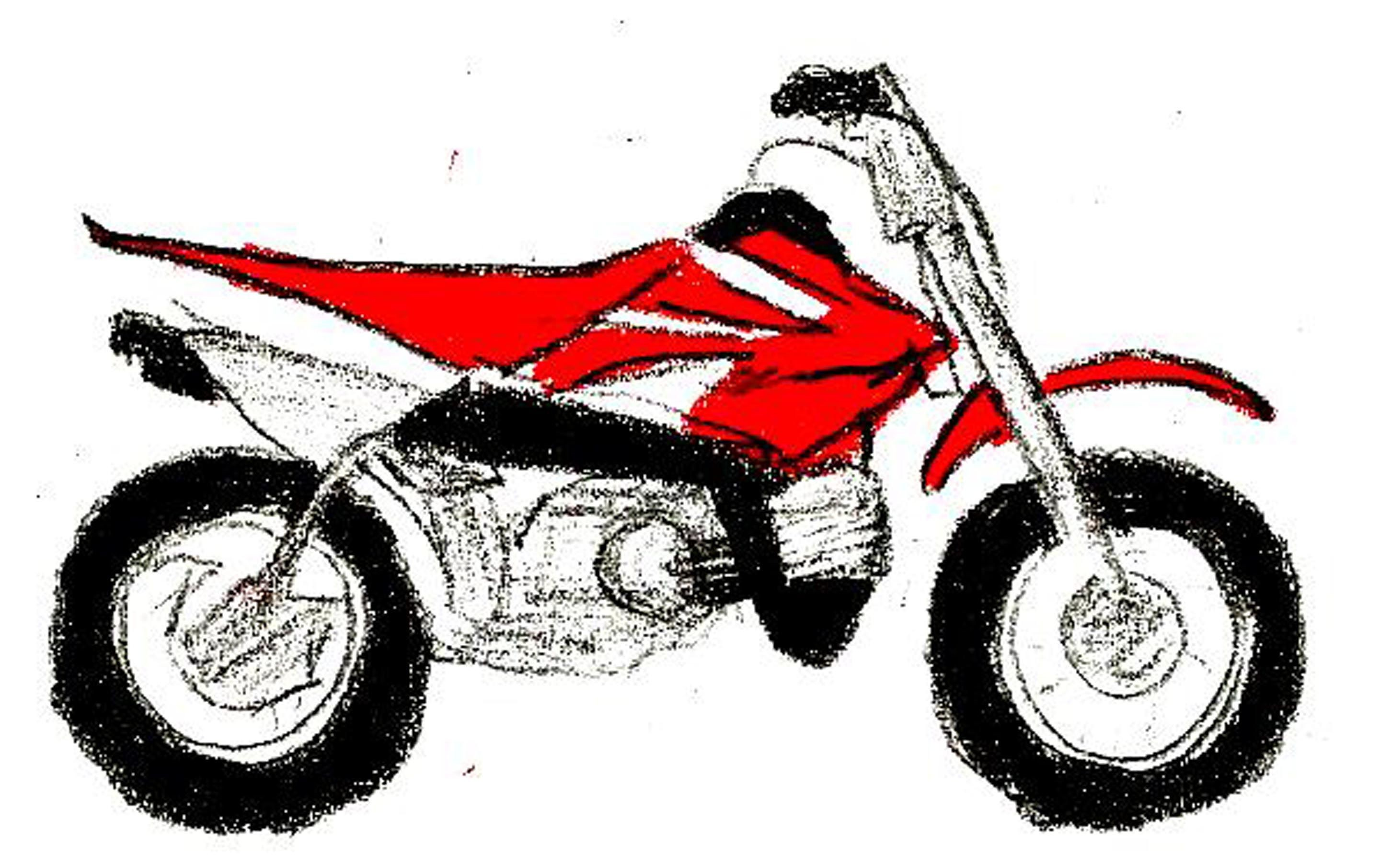 Dirt Bike Colouring Pages To Print at GetDrawings.com | Free for ...