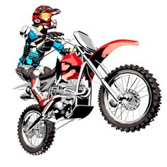 236x236 Free Download Motocross Bike Clipart For Your Creation. Motor