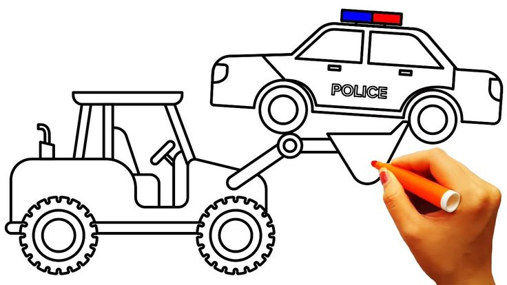 736x414 Car Colouring For Kids