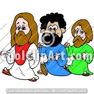 300x300 Disciples Follow Jesus Clipart