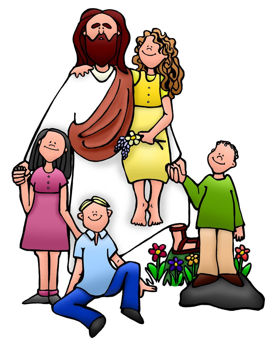 872x1104 Jesus Teaching Disciples Clipart