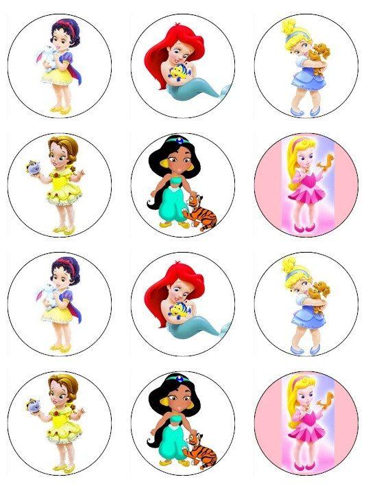 537x708 Cupcake Clipart Disney Princess