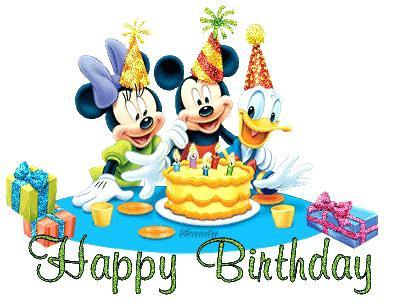 396x307 Disney Happy Birthday Clip Art Extraordinary Design Birthday