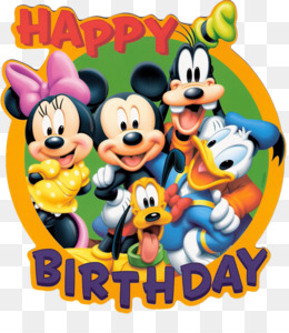 260x300 Mickey Mouse Birthday Cake Cartoon