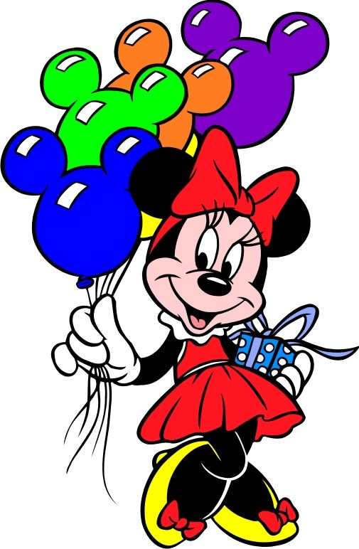 505x772 Disney Birthday Clipart Minnie Mouse Appliqu Minnie