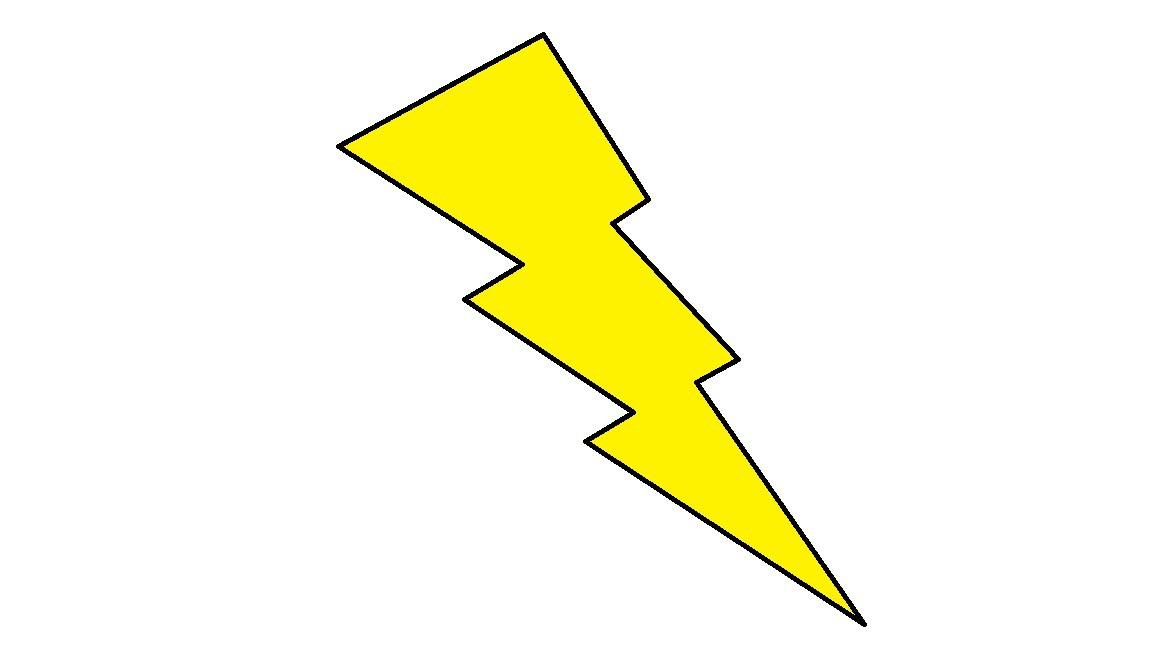 1152x648 Cartoon Lighting Bolt