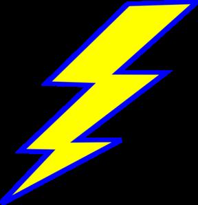 288x298 Lightning Bolt Clip Art