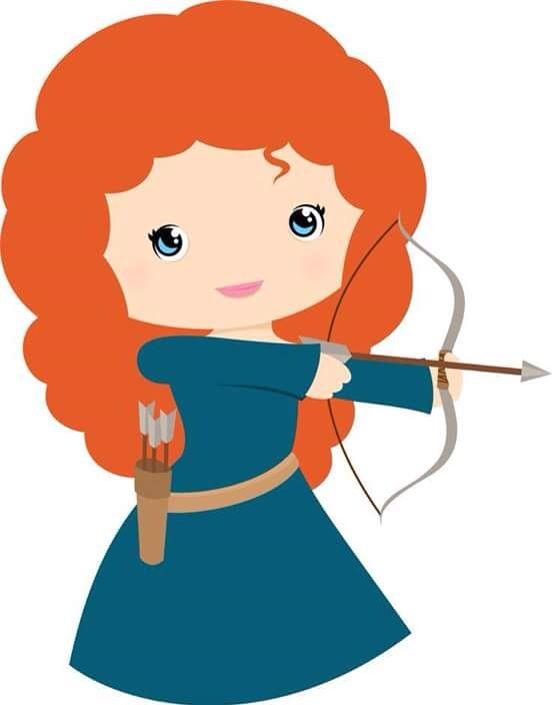 552x705 Clipart Merida, Princess And Clip Art