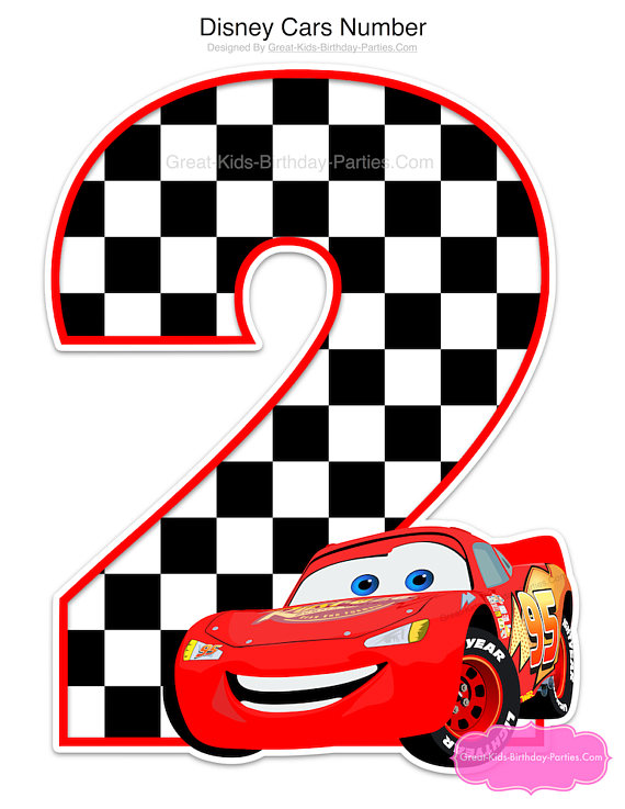 570x737 Disney Cars Birthday Centerpiece Disney Cars Decorations
