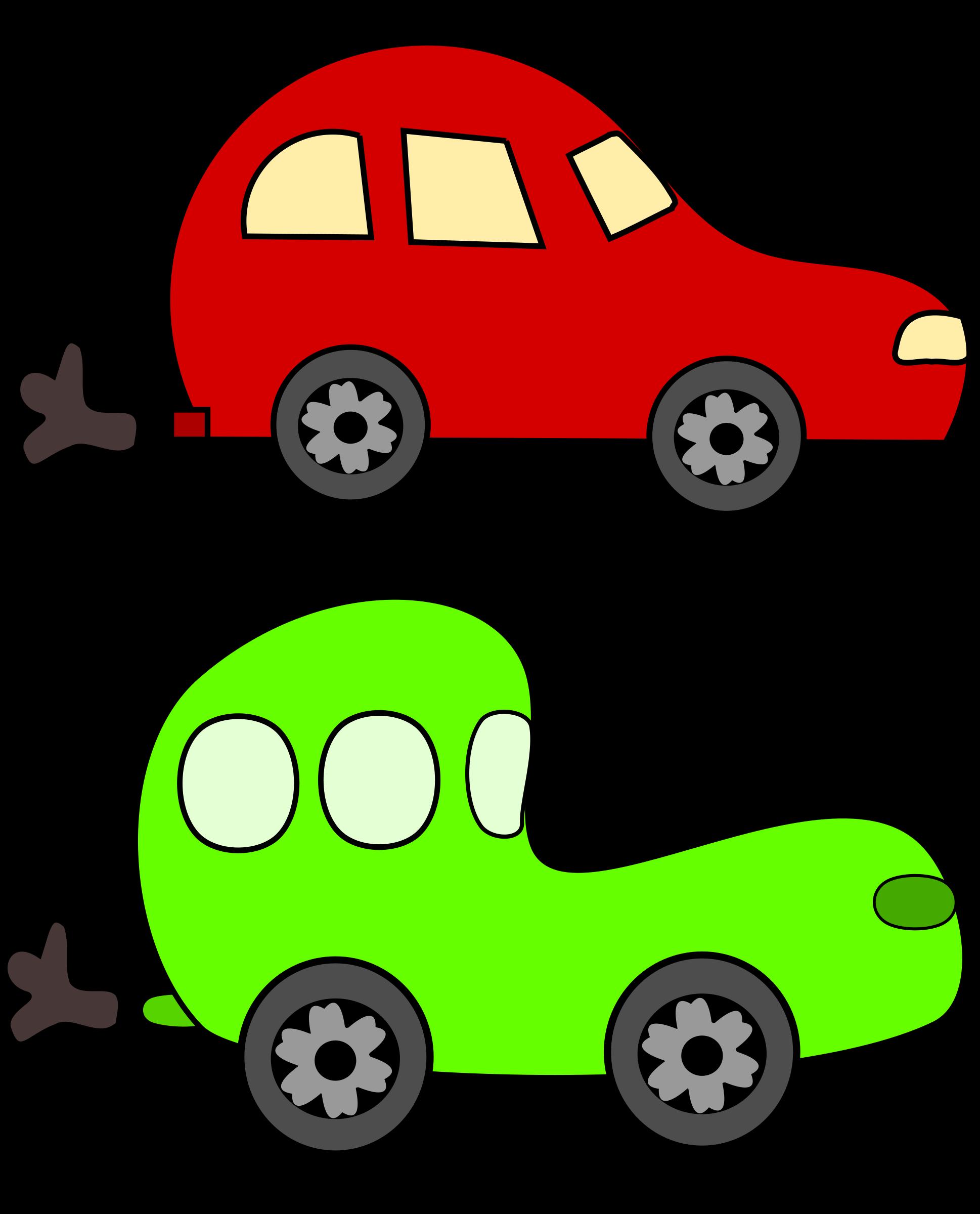 1938x2400 Car Cartoon Clip Art Clipart Green And Red Cars