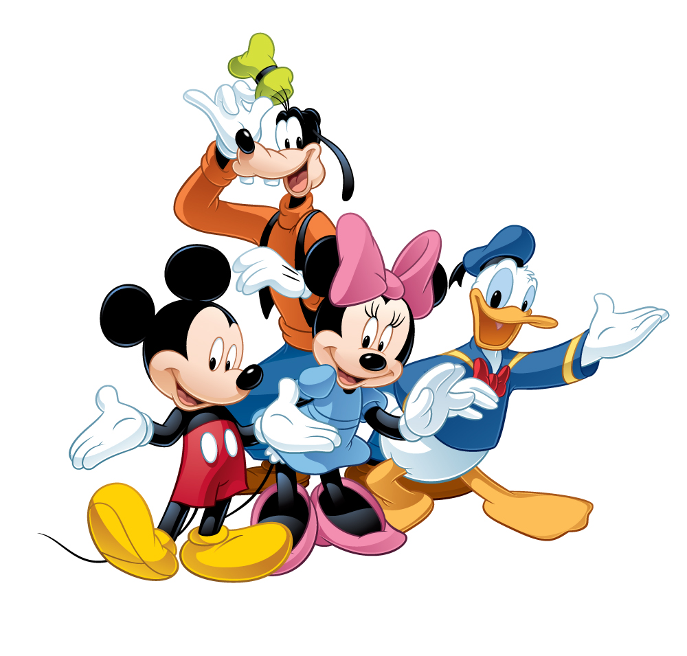 1000x955 Clip Art Disney Characters Clip Art