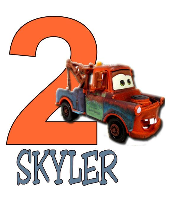 Disney Cars Mater Clipart