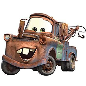 355x355 Roommates Rmk1519gm Disney Pixar Cars Mater Peel Amp Stick Giant