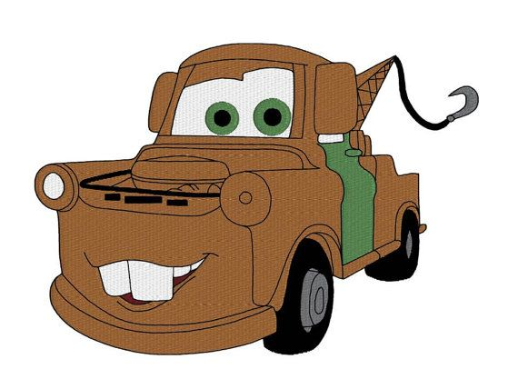 570x428 Tow Mater Cars Machine Embroidery Design Design For Kids Kids