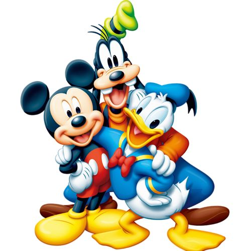 Disney Cartoon Characters Clipart