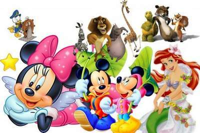 400x266 Disney Cartoon Clipart On A Transparent Background Free Download
