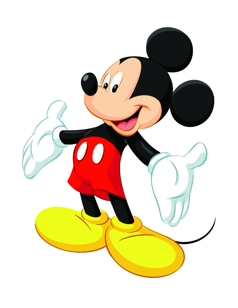 791x1024 Mickey Mouse Png Images Free Download