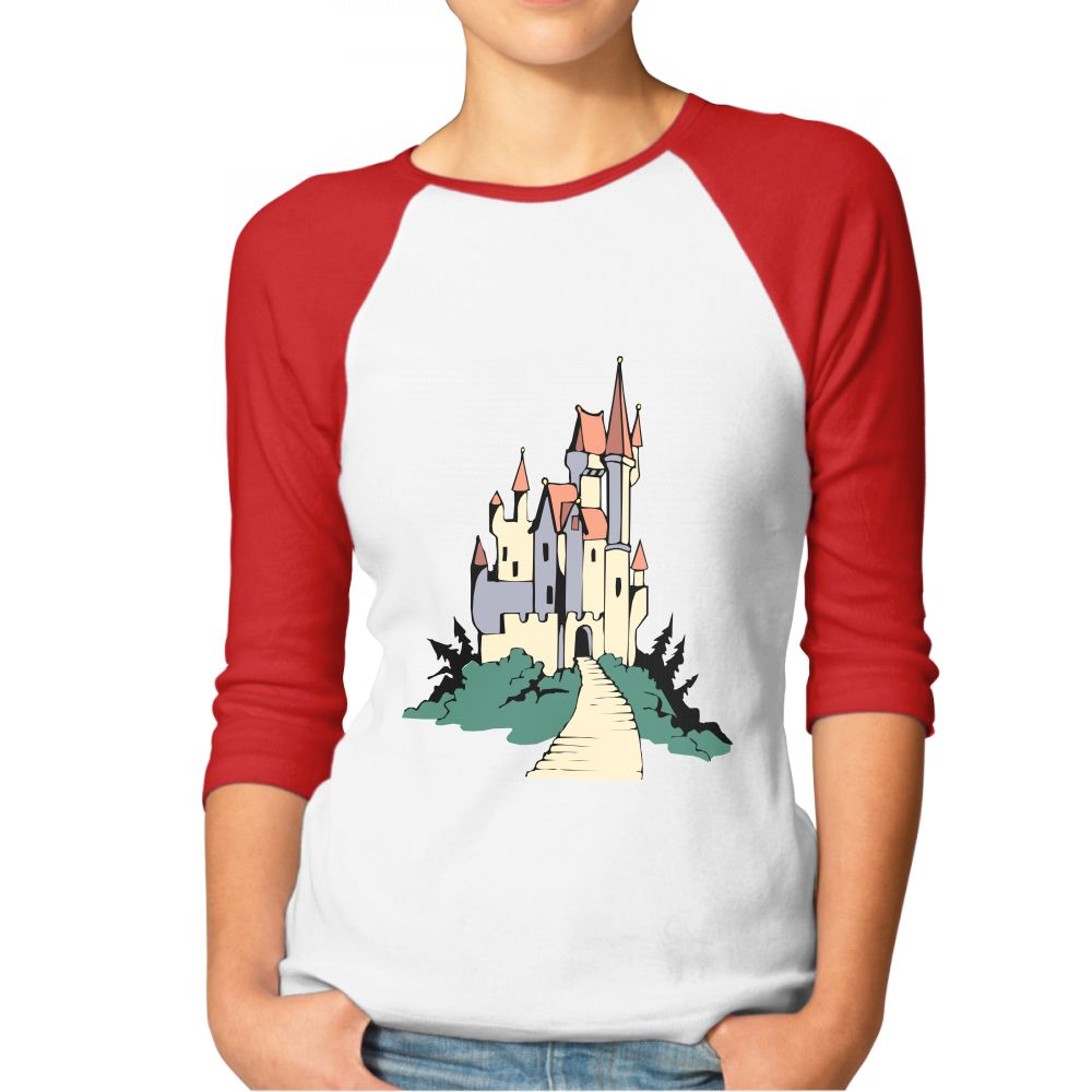 1000x1000 Red Women's Basic Disney Castle Clipart Free Download Clip Art
