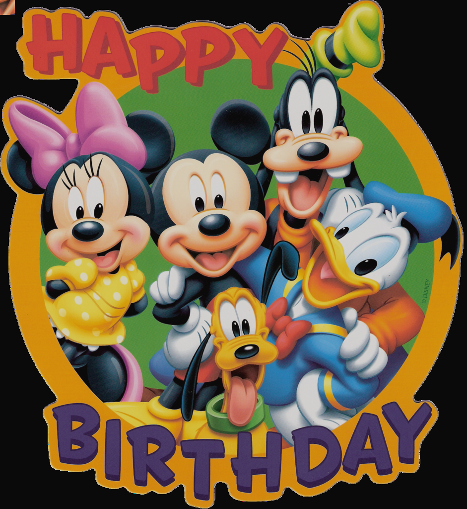 941x1024 Clip Art Disney Singing Happy Birthday Clipart Vruzmnv