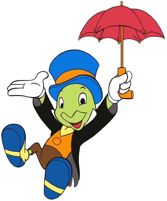 581x700 Pinocchio And Jiminy Cricket Clip Art Images Disney Galore 4