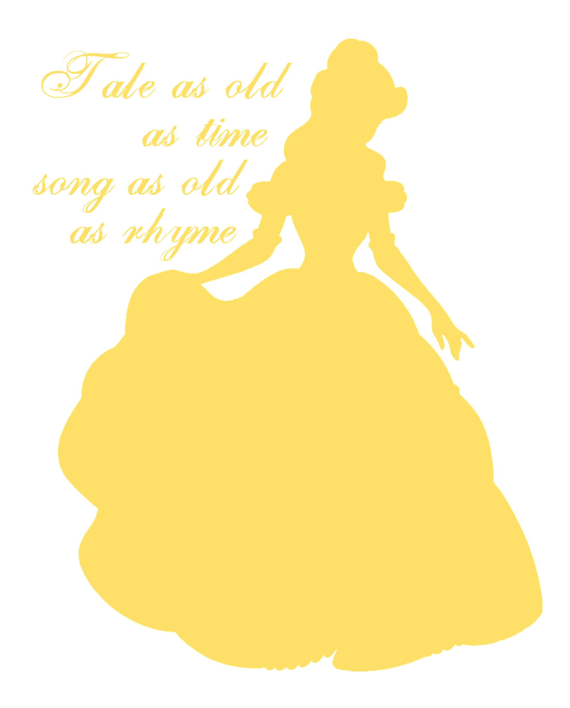 Disney Clipart Beauty And The Beast