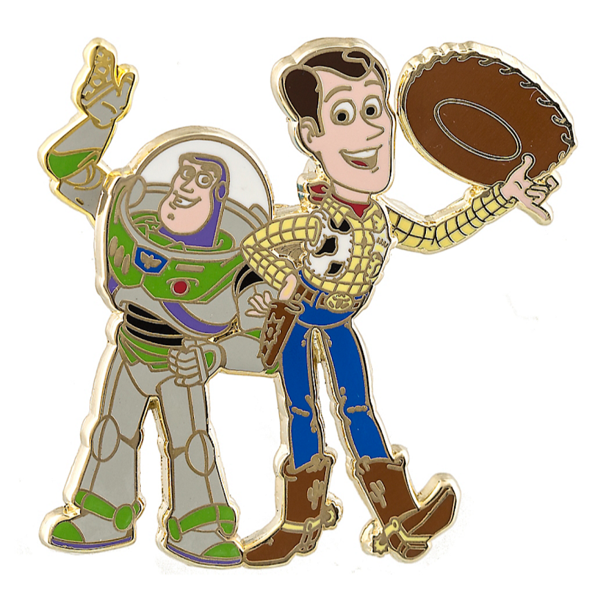 862x859 Buzz Lightyear Amp Woody Toy Story Disney Pin My Disney Shop