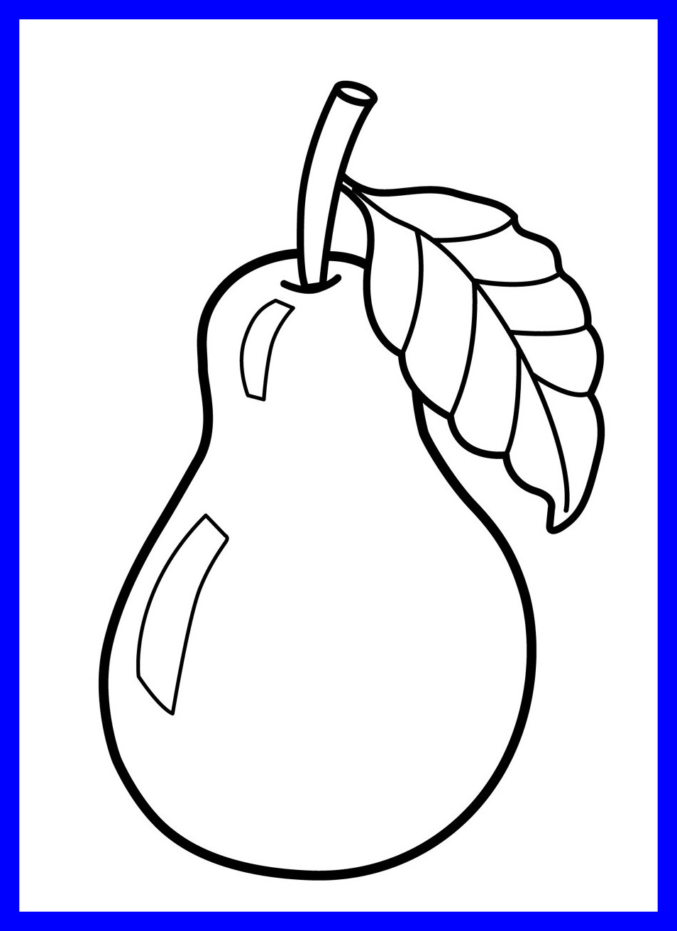 954x1312 Fascinating Unparalleled Coloring Pages Printable Fruit For Kids
