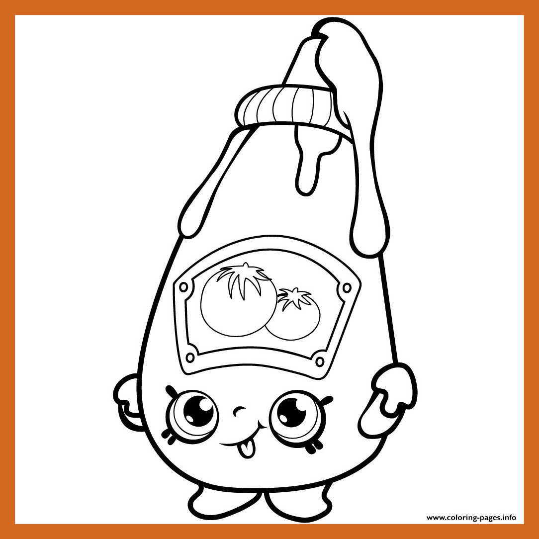 1084x1084 Amazing Shopkins Season Coloring Pages Collection Printable Image